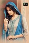 Kessi fabrics presenting patiala house 64 beautiful casual wear collection of salwar kameez
