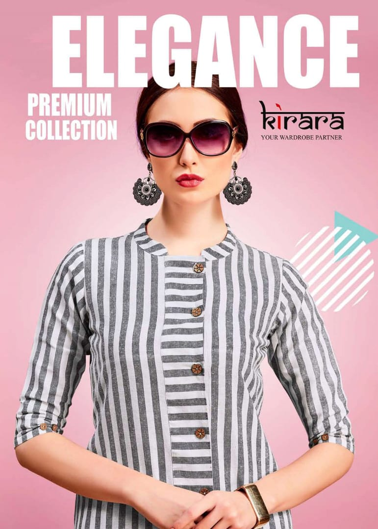 Kirara presents elegance casual ready to wear kurtis collection