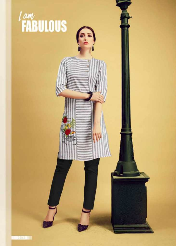 kirara presents i am star handloom cotton printed casual kurtis concept