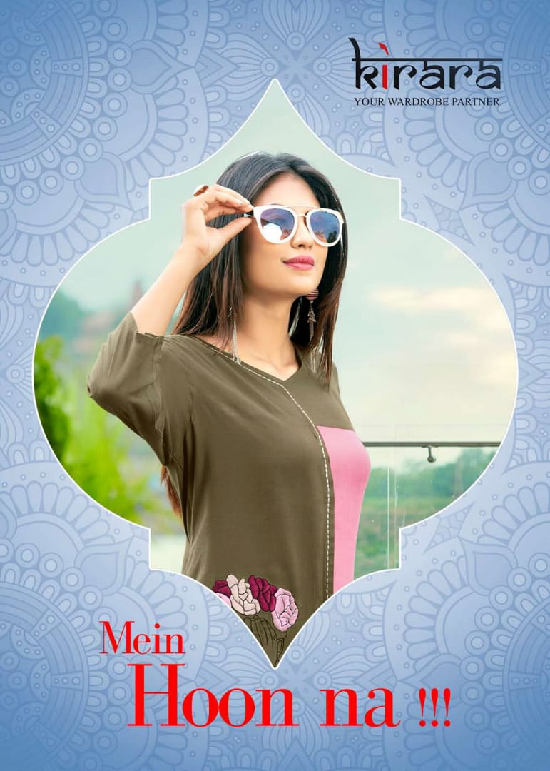 Kirara presents mein hoon na casual running wear kurtis collection
