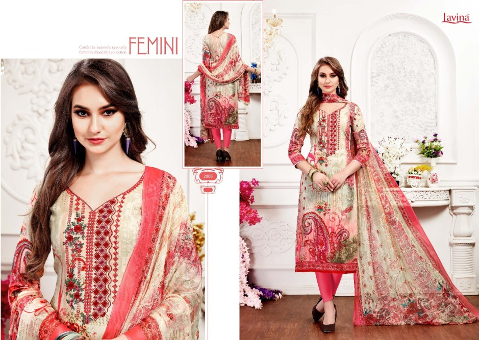 Lavina presents vibrance vol 4 exclusive collection of salwar kameez