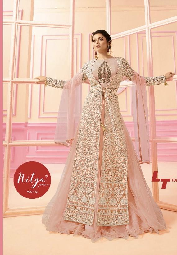 LT fabrics presents nitya vol 122 Wedding season heavy rich ...