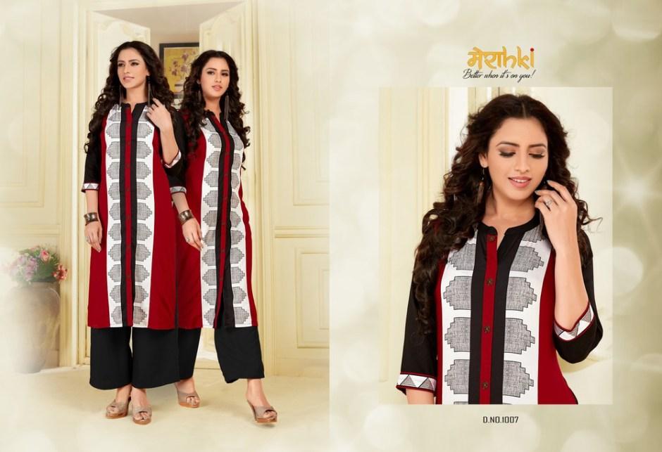 Merahki Launch vaani 2 casual ready to wear Beautiful kurtis concept