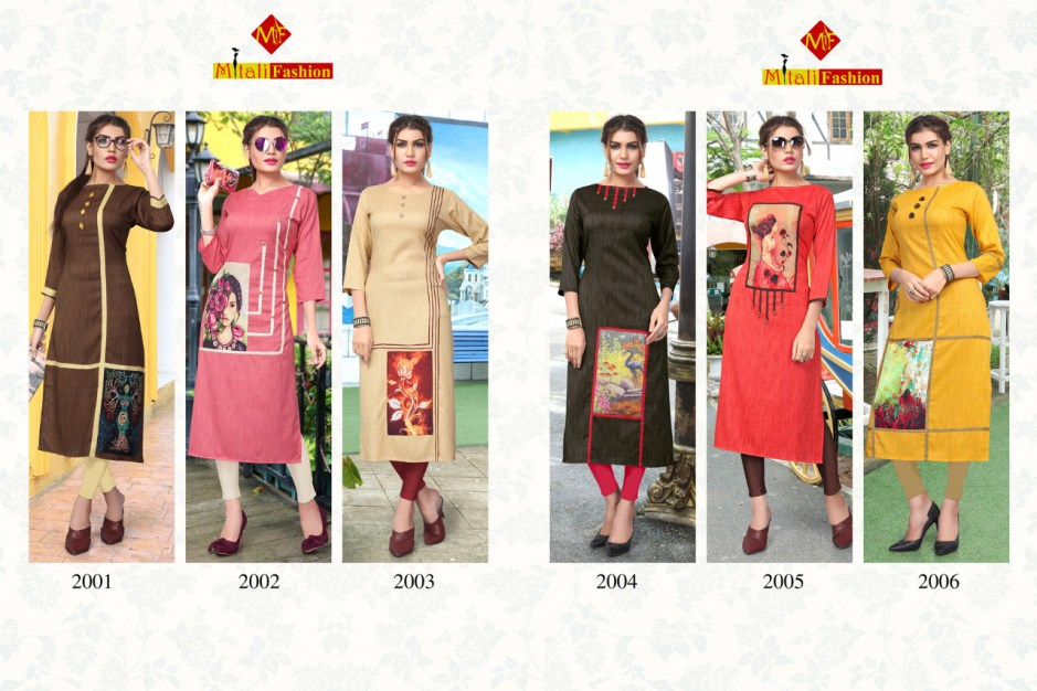 Mitali fashion presents fORAM VOL 2 casual ready to wear kurtis concept