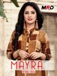 MRD presents mayra vol 4 casual running wear kurtis concept