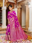 Parvati launch silk rapier vol 3 beautiful rich look sarees collection