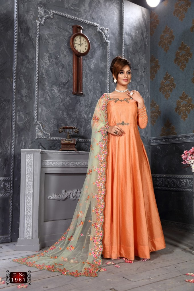 parvati presents series 1966 heavy party wear gowns collection