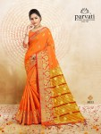 Parvati presents silk fusion vol 8 stylish silk sarees collection