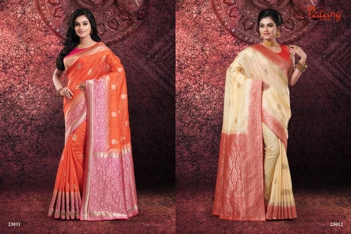 Patang presents series 23000 rich look beautiful sarees collection