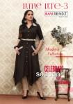 Rani trendz presenting lime lite 3 stylish wear kurtis collection