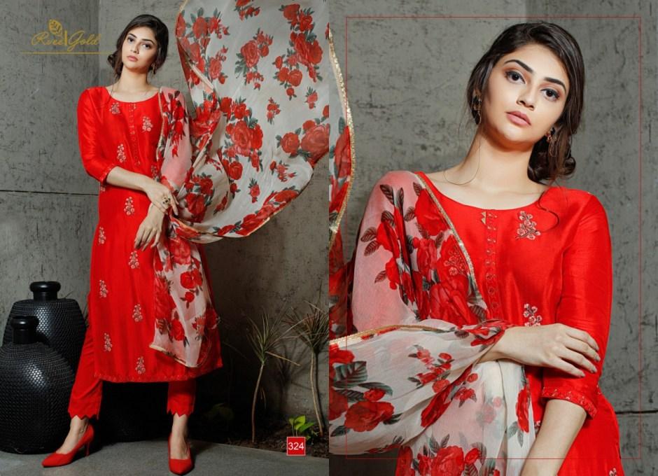 rvee gold presenting retrospeck simple elegant look collection of salwar kameez