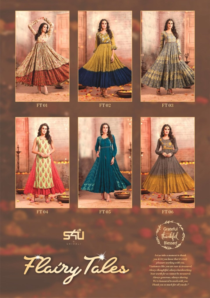 S4U launch flairy tales memerising Flared gowns collection