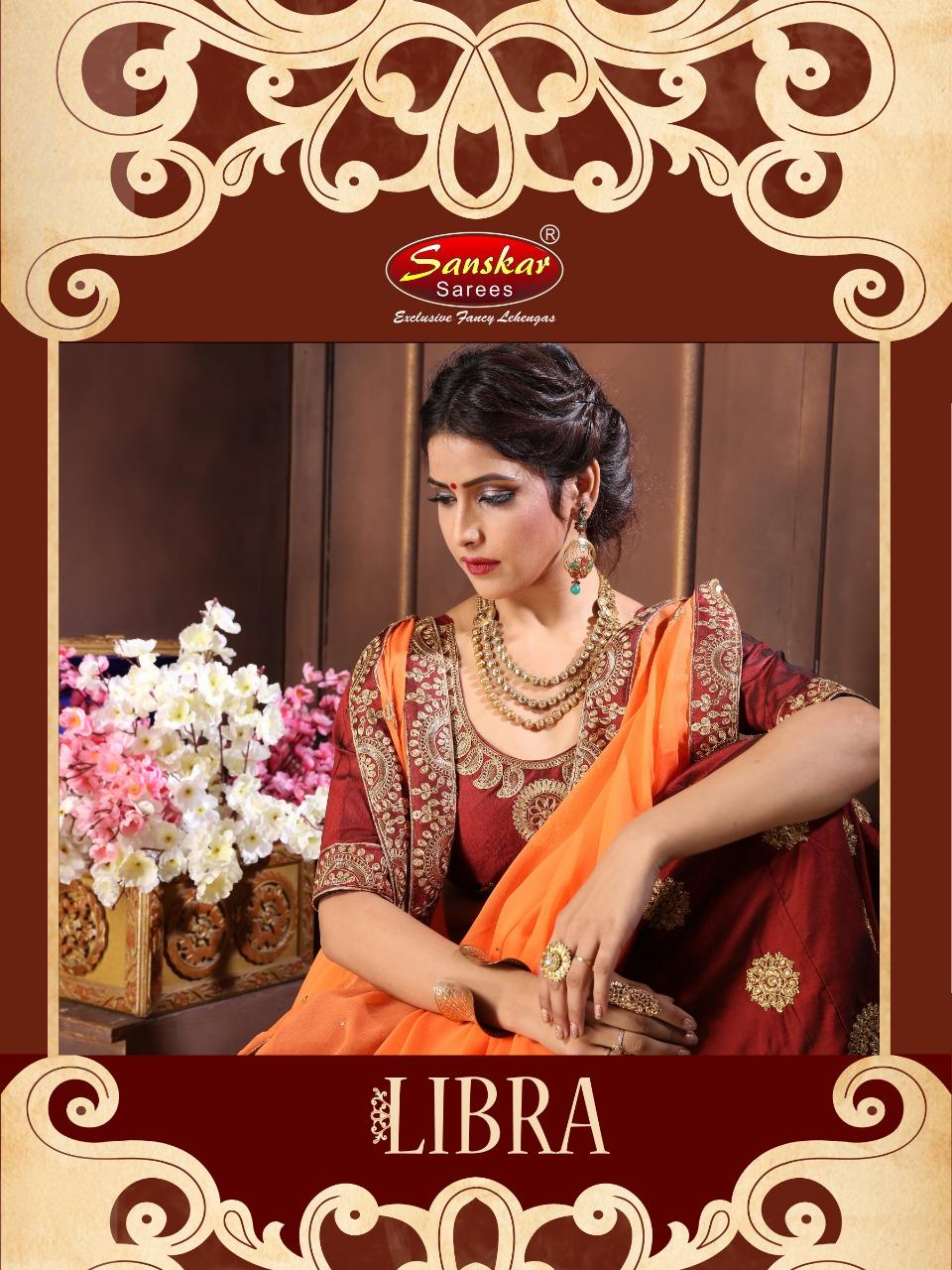 Sanskar presents libra festival season tradition wedding collection of lehenga