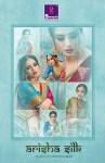 Shangrila Presenting arisha silk casual silk with meenakari weaving sarees collection