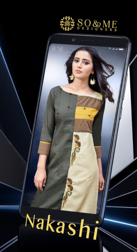 So and me designer launch nakashi Casual ready to wear kurtis concept