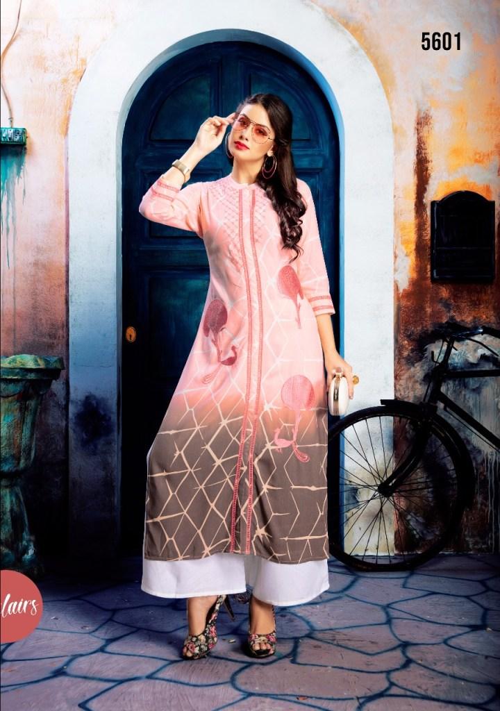 vesh pressnts eclairs stylish collection of kurtis