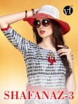 VF iNDIA presents shafanaz 3 casual ready to wear kurtis concept