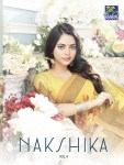 Vishal sarees Presenting nakshika vol 4 fancy wear sarees collection