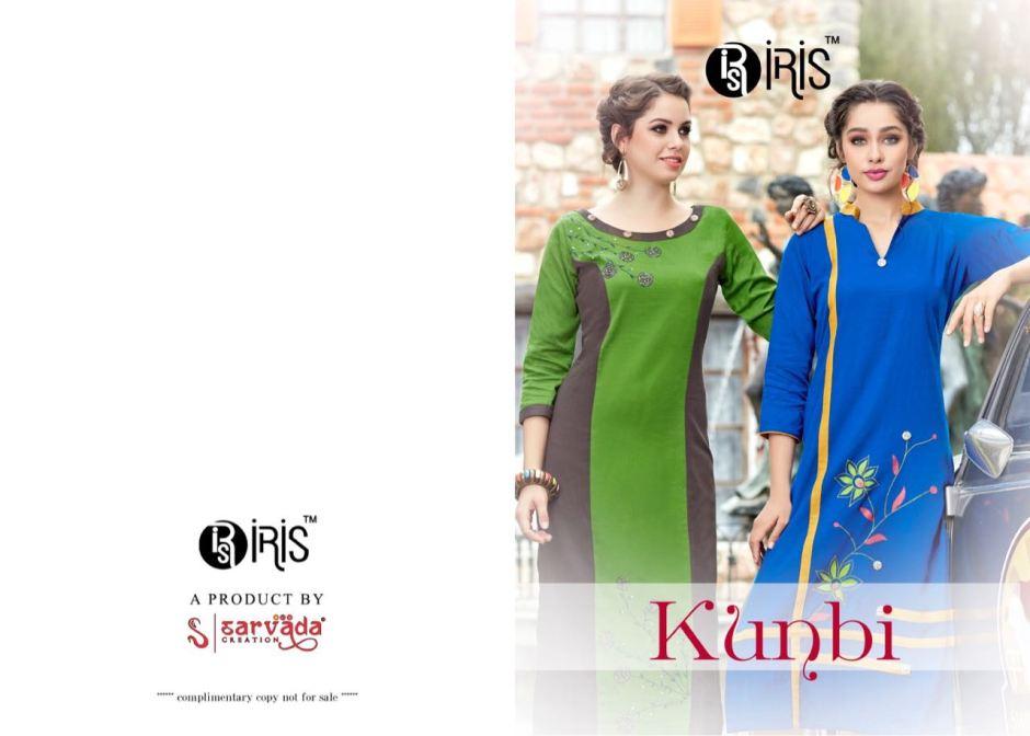IRIS kunbi casual daily wear kurtis concept