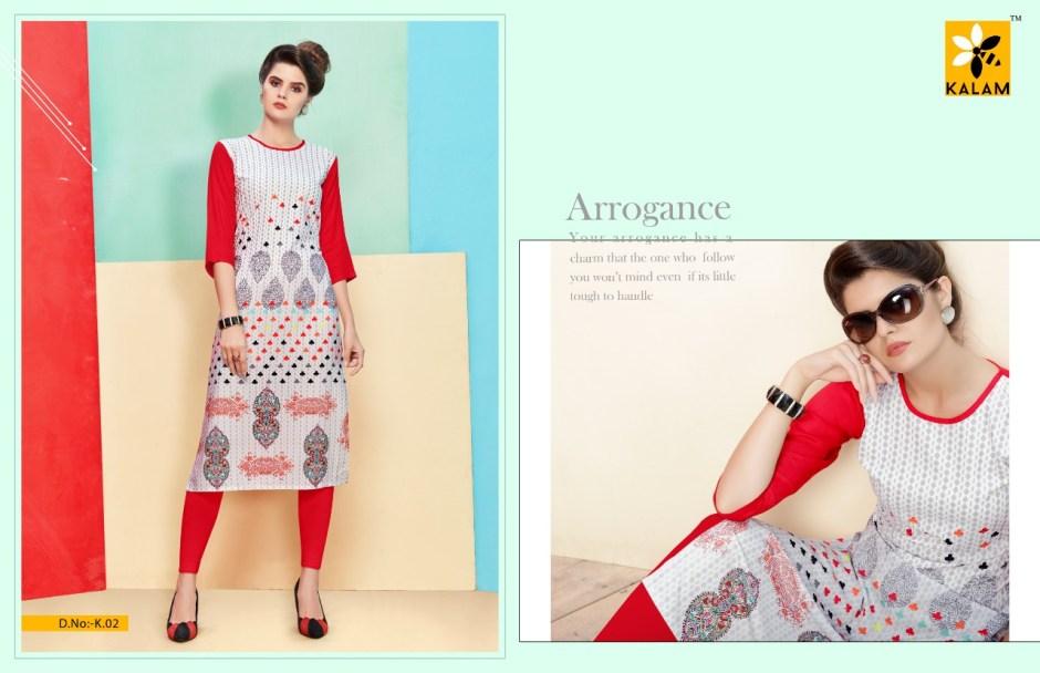 kalam presents kalam casual daily wear kurtis concept