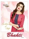 Manas presents bhakti beautiful semi casual wear kurtis collection