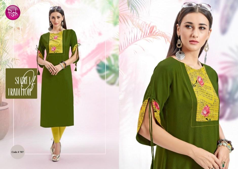 Posh anshika vol 2 casual ready to wear kurtis collection