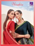 Shangrila utophia casual fancy printed sarees collection