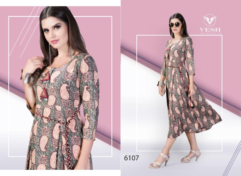 Vesh twilight Fancy maxi concept kurtis collection