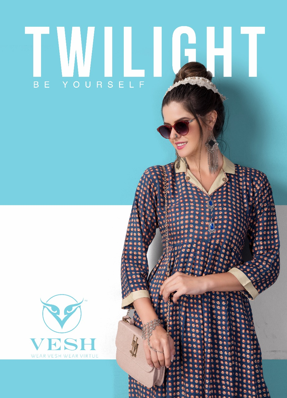 Vesh twilight Fancy maxi concept kurtis collection