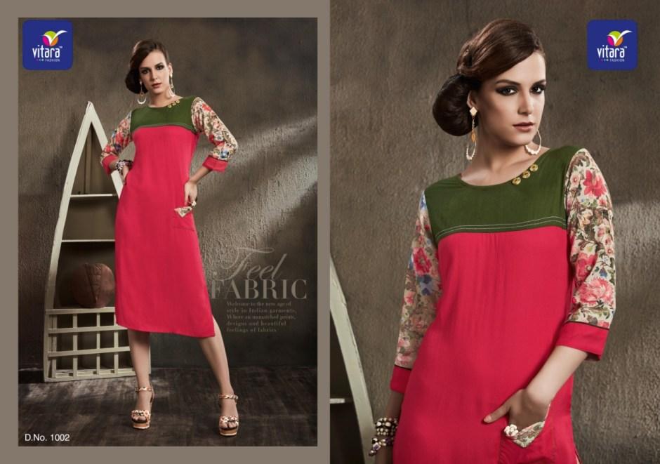vitara fashion princess casual wear kurti concept