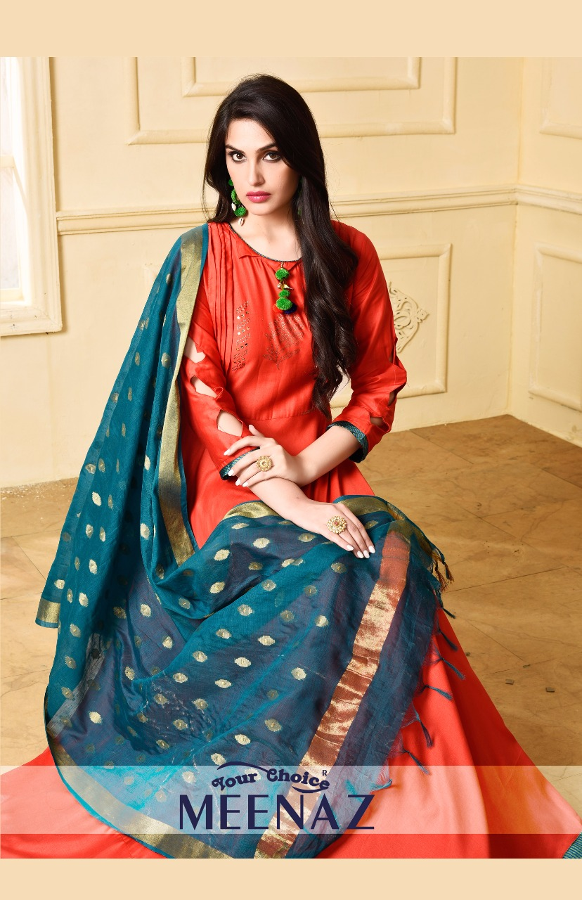 Your choice launch meenaz traditional uocoming festive season collection of gowns