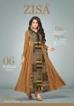Zisa charmy beautiful designer Collection of kurtis