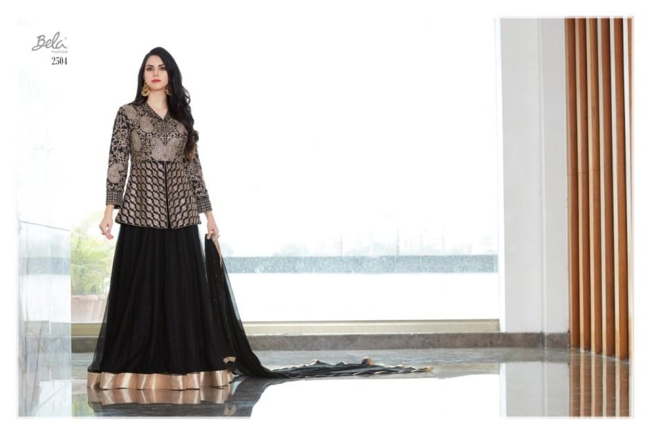 Bela fashion presenting LUXURIA Designer western style Indo western gown concept