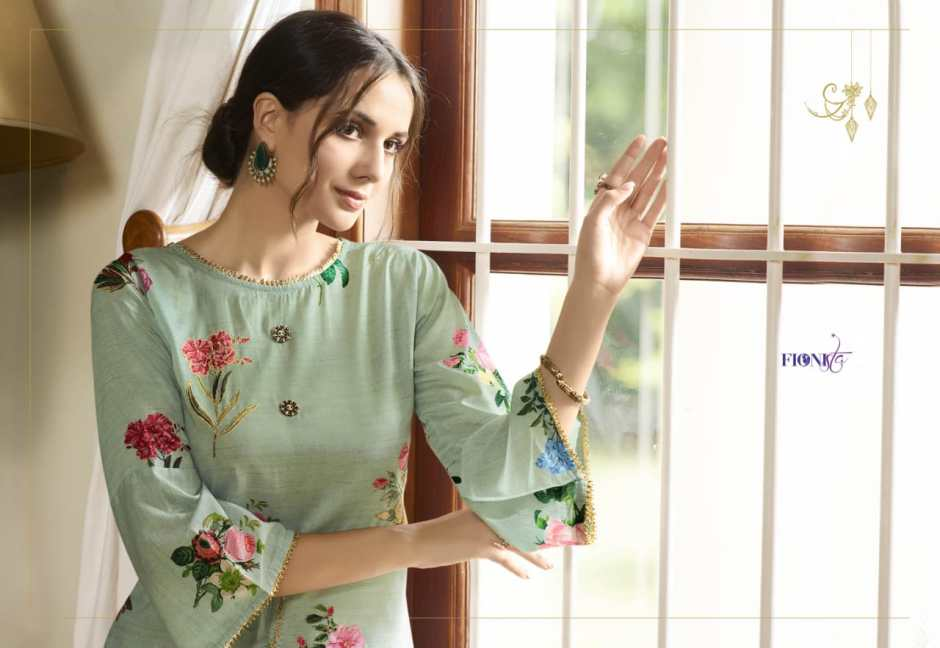 Fionista aDAAH casual stylish look new kurtis concept