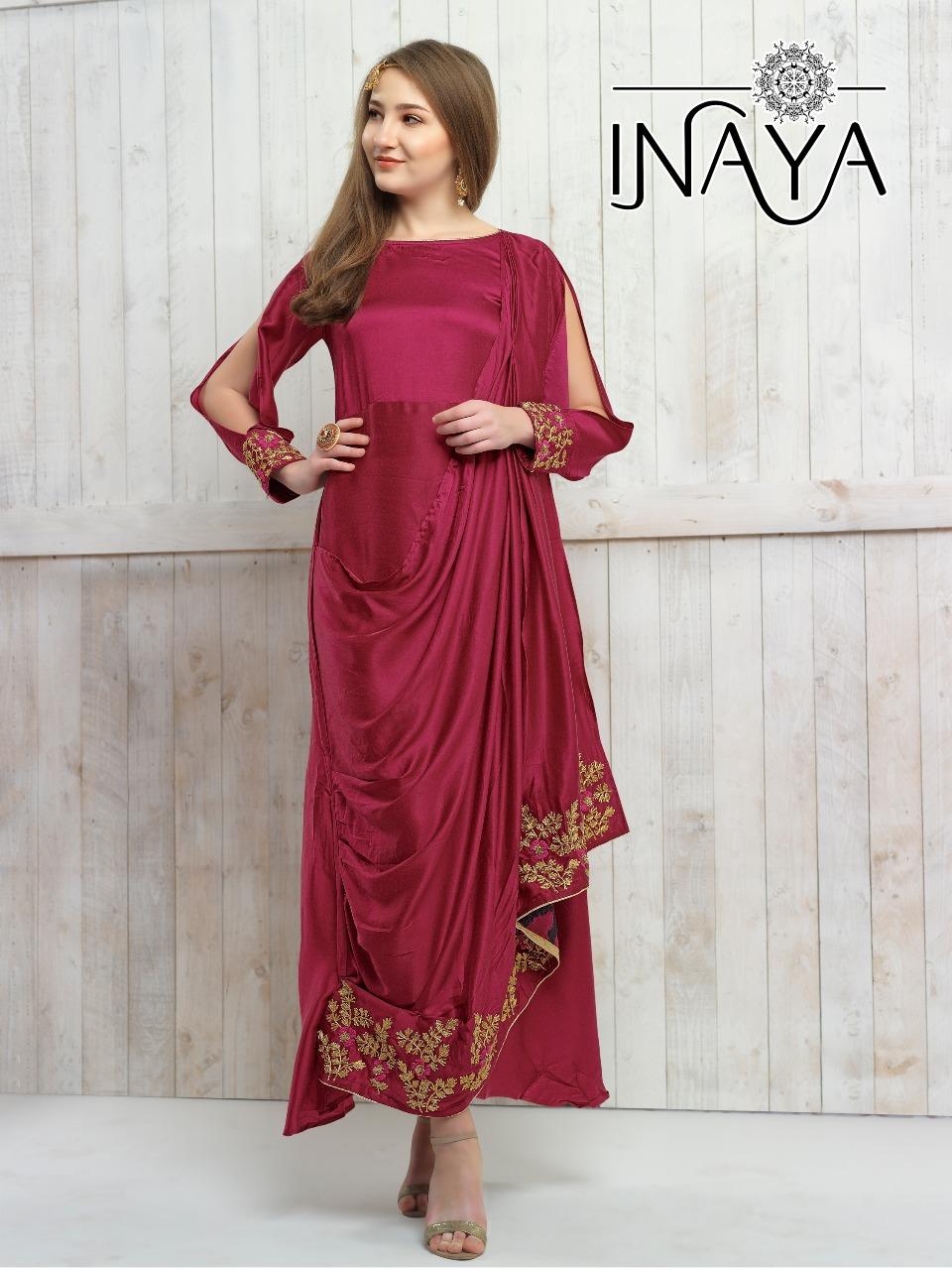 Inaya by studio libas saree pallu designer Stylish concept Saree concept