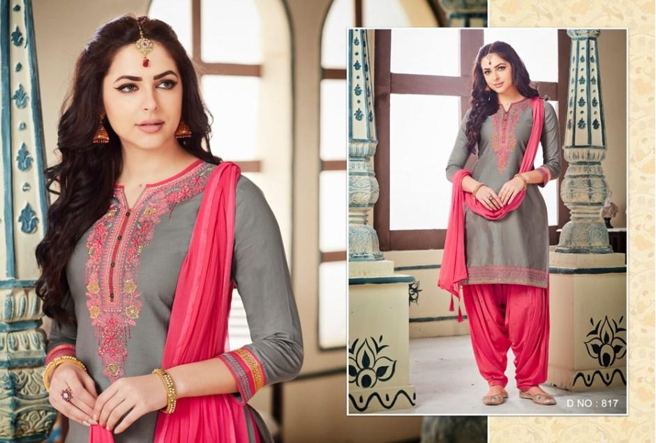 Kajree fashion presenting fashion of patiyala vol 21 beautiful fancy salwar kameez collection