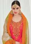 Kalarang creation presents ghena beautiful casual salwar kameez collection