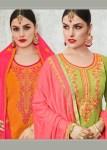 Kalarang creation presents sitara sarara casual wear collection of salwar kameez