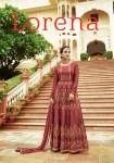 Leo fashion presenting lorena heavy Stylish wedding festive season gowns concept