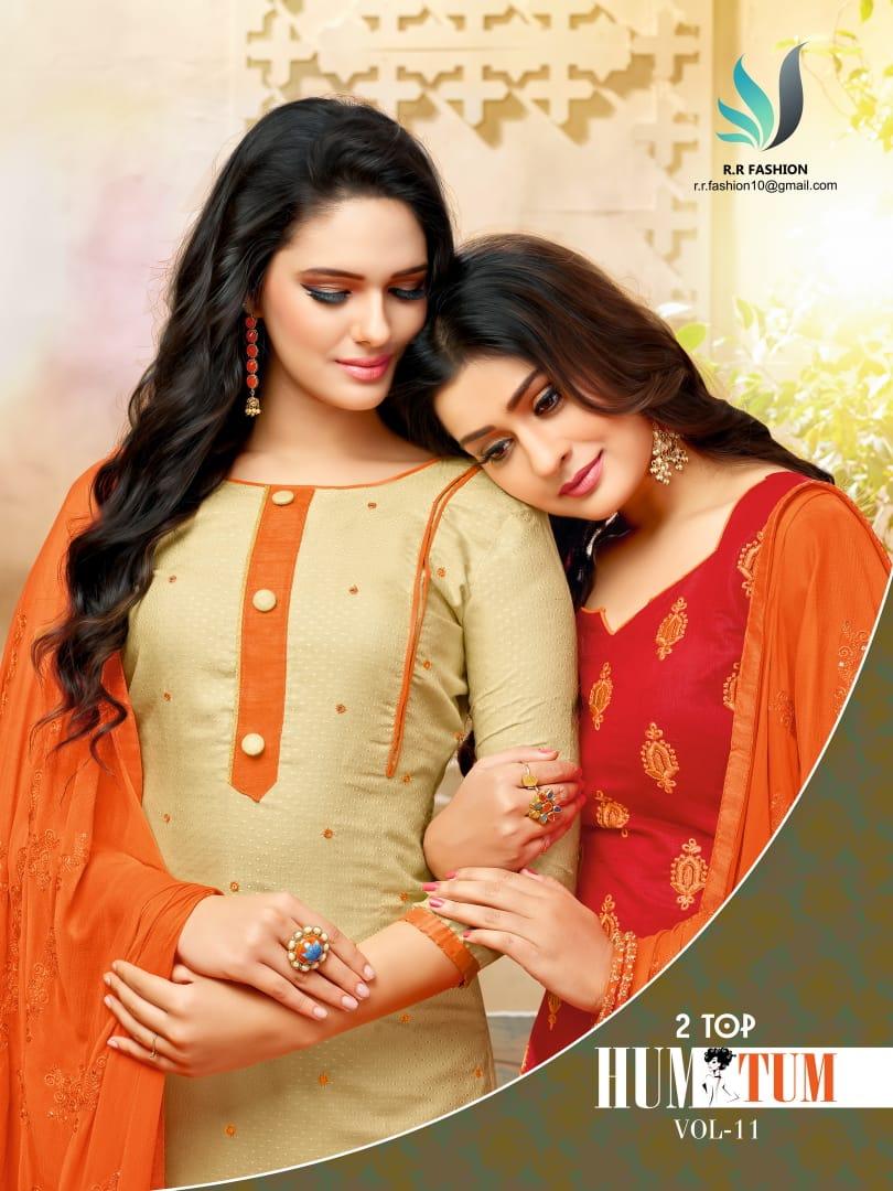 R r fashion presents hum tum vol 11 casual daily wear salwar kameez collection