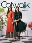 Rangoon catwalk 2 kurti with plazzo concept latest collection