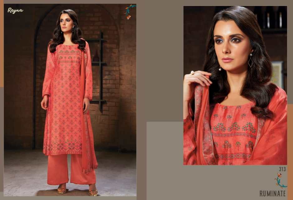 Reyna rUMINATE  simple party wear rich look salwar kameez collection