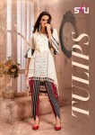 S4U tulips simple trendy look kurtis concept