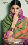 Saroj launch castard apple beautiful casual sarees collection