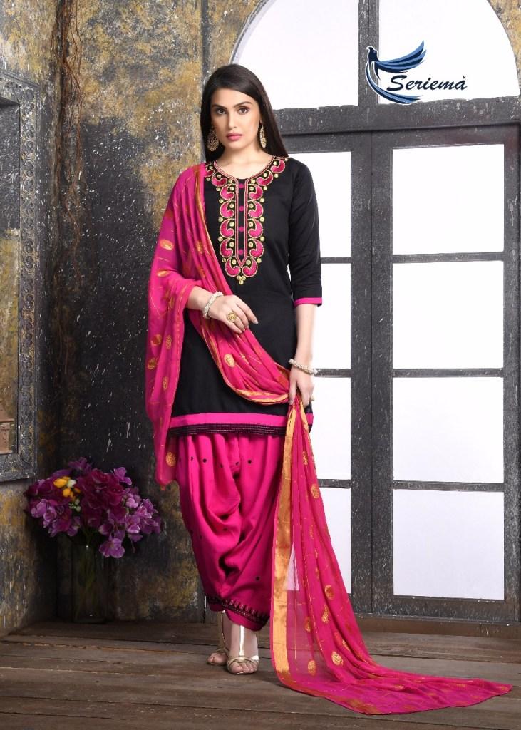 Seriema presents patiyala club vol 2 simple elegant casual wear salwar kameez collection