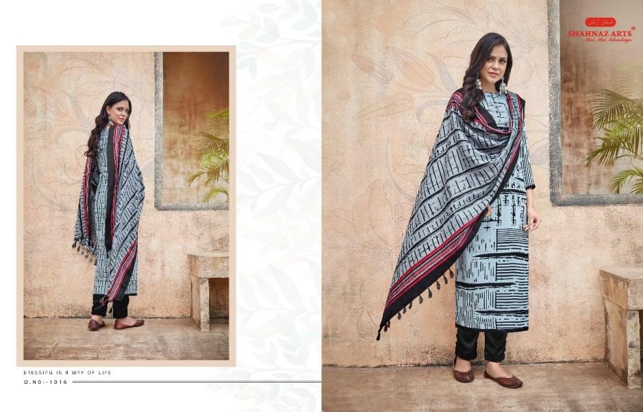 Shahnaz arts presents gulshan vol 2 casual winter shawl collection of salwar kameez