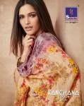 Shangrila presenting kanchana cotton vol 9 beautiful trendy look sarees collection
