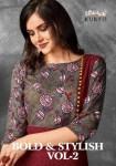 Vaishali fashion bold n stylish vol 2 Beautiful casual kurtis concept
