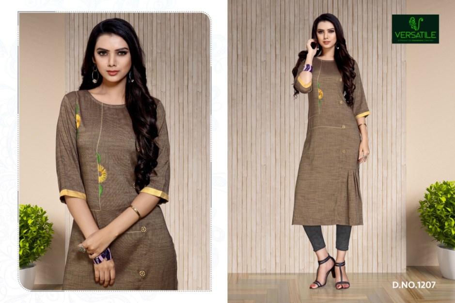 Versatile blossom Fancy casual wear kurtis concept
