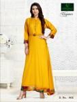 Versatile launch elegance simple casual gown style kurtis concept